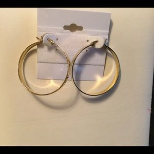 Jewelry - Gold Hoop Earrings